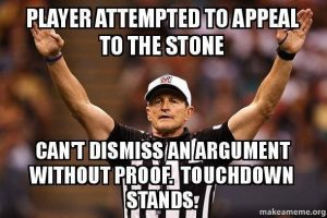 appeal to the stone