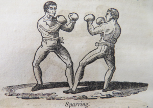 19TH CENTURY BOXING SPARRING