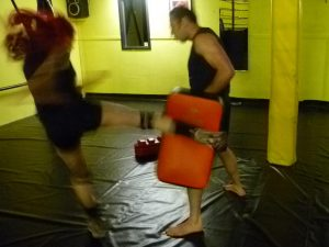 extreme academy tarn low thai kick
