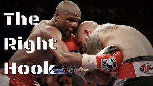 right hook in clinch