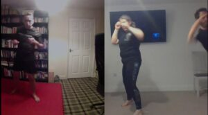 Catherine & Ollie Dutch Kickboxing (1)