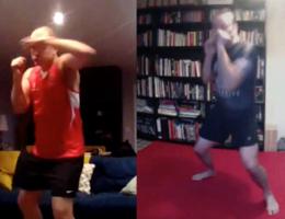 Kickboxing Personal Training Punching Skype Home Training