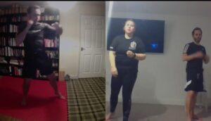 Kickboxing Thai Boxing Combinations Skype Online Training (1)