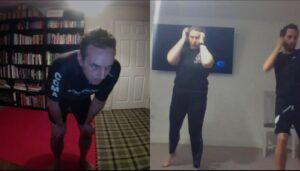 Kickboxing Thai Boxing Combinations Skype Online Training (2)