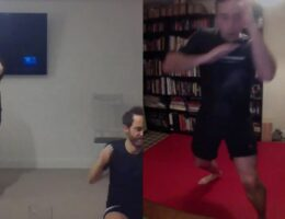 kickboxing elbow private lesson