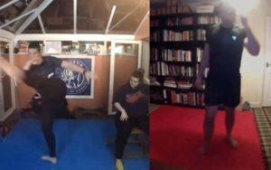 kickboxing lesson skype