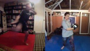 round kick virtual