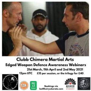 knife and edged weapon webinar