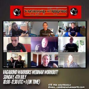vagabond warriors workout webinar