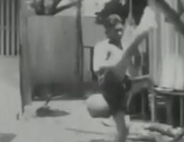 vintage muay thai kick